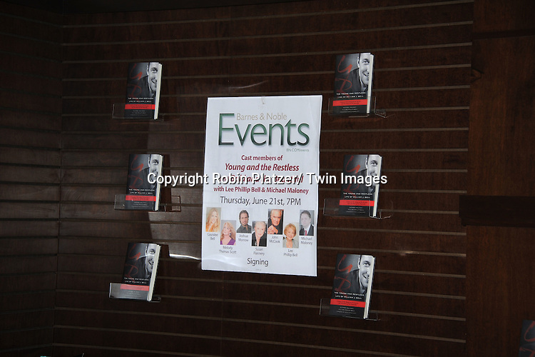 """Atmosphere at the book signing of """" The Young & Restless LIfe of William J Bell on June 21, 2012 at The Barnes & Nobles in The Grove in Los Angeles."""