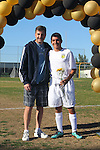 Palos Verdes, CA 02/09/12 - Jason Flannigan (Peninsula #14) during the open ceremony on parents' day.