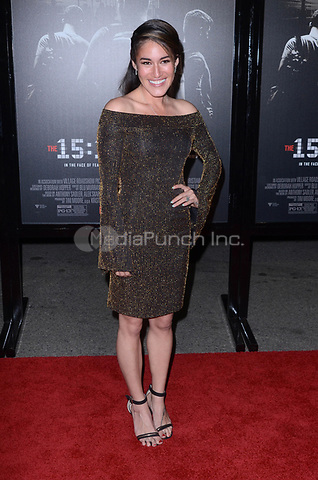 BURBANK, CA - FEBRUARY 05: Q'orianka Kilcher at the Premiere Of Warner Bros. Pictures' 'The 15:17 To Paris' at Steven J. Ross Theater/Warner Bros Studios Lot on February 5, 2018 in Burbank, California. Credit: David Edwards/MediaPunch