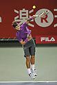 Rafael Nadal (ESP), OCTOBER 4, 2011 - Tennis : Men's Doubles at Rakuten Japan Open Tennis Championships in Tokyo, Japan. (Photo by Atsushi Tomura/AFLO SPORT) [1035]