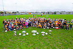 Austin Stacks Club Juvenile Academy were host to a collection of trophies including the  Sam Maguire and Tom Markham Cup at  Caherslee GAA Grounds on Sunday