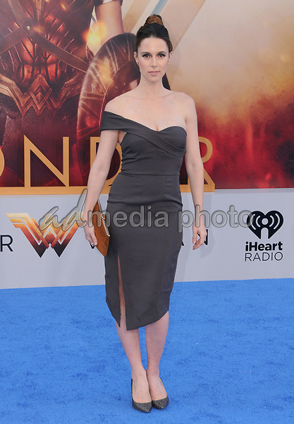 """25 May 2017 - Hollywood, California - Alona Tal. World  Premiere of Warner Bros. Pictures'  """"Wonder Woman"""" held at The Pantages Theater in Hollywood. Photo Credit: Birdie Thompson/AdMedia"""