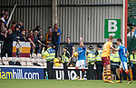Lee Hodson getting objects thrown at him