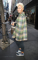 NEW YORK, NY - JANUARY 29: Emeli Sande at NBC's  Today Show in New York City. January 29, 2013. Credit: RW/MediaPunch Inc. /NortePhoto