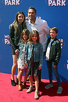 LOS ANGELES - MAR 10:  Clements Family, Ava Marie Clements, Leah Rose Clements at the Wonder Park Premiere at the Village Theater on March 10, 2019 in Westwood, CA