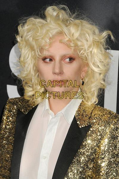 10 February 2016 - Los Angeles, California - Lady Gaga. Saint Laurent At The Palladium held at the Hollywood Palladium. <br /> CAP/ADM/BP<br /> &copy;BP/ADM/Capital Pictures