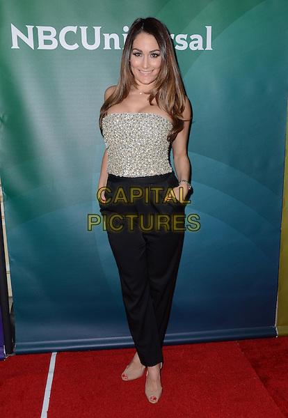 14 January  - Pasadena, Ca - Nikki Bella. NBC Universal Press Tour Day 2 held at The Langham Huntington Hotel.  <br /> CAP/ADM/BT<br /> &copy;BT/ADM/Capital Pictures