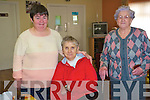 Ballinskelligs Day Care Centre and Meals on Wheels is a huge boost to the elderly population of the local community who every Thursday get to meet up with friends and enjoy a meal  .L-R Joan King, Eileen O'Sullivan and Mary Anne Dennehy