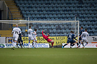 4th January 2020; Dens Park, Dundee, Scotland; Scottish Championship Football, Dundee FC versus Inverness Caledonian Thistle; Aaron Doran of Inverness Caledonian Thistle scores for 1-0 in the 17th minute - Editorial Use