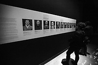 """nazi doctors. <br /> <br /> Rome, 27/01/2019. Today is the International Holocaust Day, also called Holocaust Memorial Day in UK & Italy. A day designated by the UN General Assembly resolution 60/7 on 1 November 2005 to remember the victims of the Holocaust: 6 million Jews, 2 million Gypsies (Roma & Sinti), 15,000 homosexual people, and millions of others killed by the Nazi regime and its collaborators. The 27th of January (1945) marks the day of the liberation by the Soviet Union Army of the largest death camp, Auschwitz-Birkenau (74th Anniversary). To coincide with the Holocaust Memorial Day the Palazzo delle Esposizioni presents its last experiential exhibition called Witnesses of Witnesses. Remembering and Recounting Auschwitz. From the event website: <<Following a memory trip to Auschwitz, the heart of the devastating Shoah that rocked and shocked the 20th century, a group of students from various Rome high schools began to envisage a different way of recalling those horrific events. These boys' and girls' encounter with Studio Azzurro – a well-known Italian artists' collective involved in experimenting with the language of new media – has spawned """"Witnesses' Testimonials. Recalling and recounting Auschwitz,"""" the first experiential exhibition designed by students in an institutional space within the capital, to be experienced as an event that urges visitors to undertake a physical and mental journey to keep the memory of the story alive. […] A narrow space, which visitors are urged to enter, conjures up the cattle trucks used for deportation. The doors slide shut. In the darkness we hear the voices of Mussolini and Hitler, the frenzied chanting of the adoring crowds, and the insistent drumming of the train on the tracks. The doors open […]>>.<br /> For more info please click here: https://www.palazzoesposizioni.it/ & https://bit.ly/2RkbUTT"""