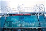 Old Trafford, home of Manchester United FC. Photo by Tony Davis