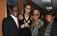 HOLLWOOD, CA - October 08: AzMarie Livingston, Dionne Warwick, Guests, At 4th Annual CineFashion Film Awards_Inside At On El Capitan Theatre In California on October 08, 2017. Credit: FayeS/MediaPunch