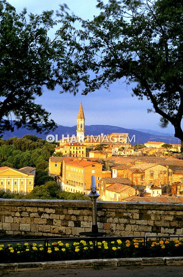 Cidade de Perugia, Itália. 1998. Foto de Vinicius Romanini.