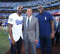 10/27/18 - Los Angeles:  World Series on Fox - Game 4 - Boston Red Sox vs LA Dodgers -Pregame