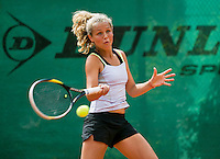 August 4, 2014, Netherlands, Dordrecht, TC Dash 35, Tennis, National Junior Championships, NJK,  Tess Menten (NED)<br /> Photo: Tennisimages/Henk Koster