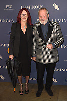 Terry Gilliam<br /> arriving for the LUMINOUS Gala 2019 at the Roundhouse Camden, London<br /> <br /> ©Ash Knotek  D3522 01/10/2019
