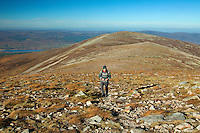 Geal Charn from Meall Buidhe, Cairngorm National Park, Badenoch and Speyside