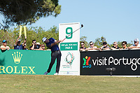 Eddie Pepperell (ENG) during Round 3 of the Portugal Masters, Dom Pedro Victoria Golf Course, Vilamoura, Vilamoura, Portugal. 26/10/2019<br /> Picture Andy Crook / Golffile.ie<br /> <br /> All photo usage must carry mandatory copyright credit (© Golffile   Andy Crook)
