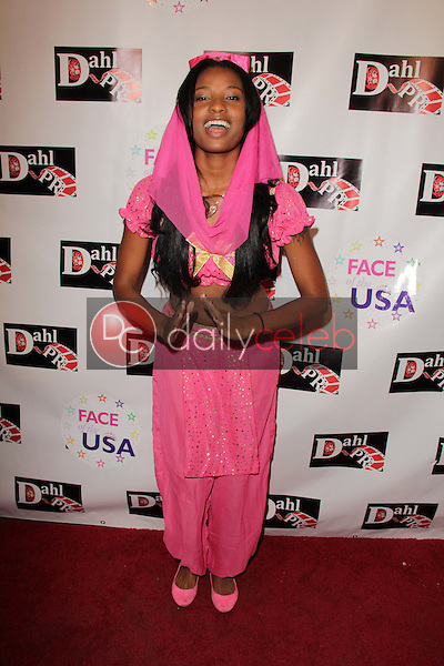 Troi Jeanette Phillips<br /> at the Monster Man Costume Ball, Cabo Wabo, Hollywood, CA 10-16-13<br /> David Edwards/Dailyceleb.com 818-249-4998