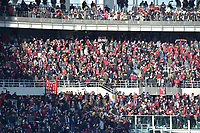 12th January 2020; Olympic Grande Torino Stadium, Turin, Piedmont, Italy; Serie A Football, Torino versus Bologna; The Torino supporters in the coool early year sunshine - Editorial Use