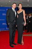 Actor Edward Burns, left, and model Christy Turlington arrive for the 2016 White House Correspondents Association Annual Dinner at the Washington Hilton Hotel on Saturday, April 30, 2016.<br /> Credit: Ron Sachs / CNP<br /> (RESTRICTION: NO New York or New Jersey Newspapers or newspapers within a 75 mile radius of New York City)