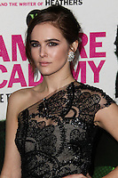 "LOS ANGELES, CA - FEBRUARY 04: Zoey Deutch at the Los Angeles Premiere Of The Weinstein Company's ""Vampire Academy"" held at Regal Cinemas L.A. Live on February 4, 2014 in Los Angeles, California. (Photo by Xavier Collin/Celebrity Monitor)"