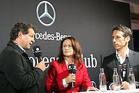 Andy Möller im Interview  im Mercedes Sportpresseclub mit Werder Manager Thomas Eichin - WM Qualifikation 9. Spieltag Deutschland vs. Irland in Köln