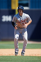 Detroit Tigers Zac Shepherd (59) during a Minor League Spring Training game against the New York Yankees on March 21, 2018 at the New York Yankees Minor League Complex in Tampa, Florida.  (Mike Janes/Four Seam Images)