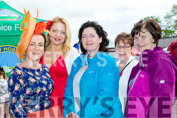 Glamour<br /> ------------<br /> Ladies attending the race meeting in Ballybeggan were L-R Maria Stack, Jurga Butkute, Sherley Thornton, Kathleen O'Neill and Mary Shanahan.