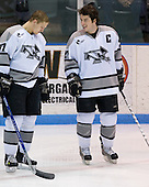 Trevor Ludwig (Providence 17), Jon Rheault (Providence 21) - The Boston College Eagles and Providence Friars played to a 2-2 tie on Saturday, March 1, 2008 at Schneider Arena in Providence, Rhode Island.