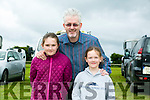 l-r  Siun McGillicuddy, Michael McGillicuddy and Caragh McGillicuddy all from Doon, Tralee enjoying  the KERRY PONY SOCIETY 37th Annual Show & Gymkhana At Blennerville on Sunday