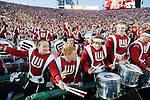 "Wisconsin Badgers band dances to the song ""Jump Around"" during the 2012 Rose Bowl NCAA football game against the Oregon Ducks in Pasadena, California on January 2, 2012. The Ducks won 45-38. (Photo by David Stluka)"