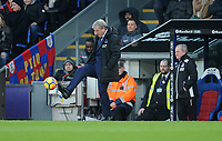 Crystal Palace manager Roy Hodgson <br /> <br /> Photographer Ashley Crowden/CameraSport<br /> <br /> The Premier League - Crystal Palace v Burnley - Saturday 13th January 2018 - Selhurst Park - London<br /> <br /> World Copyright &copy; 2018 CameraSport. All rights reserved. 43 Linden Ave. Countesthorpe. Leicester. England. LE8 5PG - Tel: +44 (0) 116 277 4147 - admin@camerasport.com - www.camerasport.com