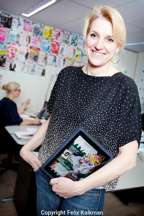 Hoofddorp, 7 december 2010.Corinne van Duin.hoofdredacteur Viva.Foto Felix Kalkman