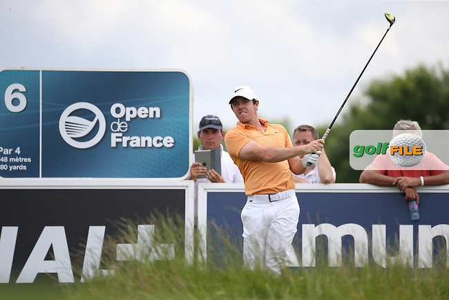 Rory McIlroy (NIR) during the Wednesday Pro-Am ahead of the 100th Open de France, played at Le Golf National, Guyancourt, Paris, France. 29/06/2016. Picture: David Lloyd | Golffile.<br /> <br /> All photos usage must carry mandatory copyright credit (&copy; Golffile | David Lloyd)
