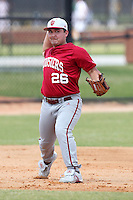 Indiana Hoosiers Dillon Dooney #26 during a game vs UMass at Lake Myrtle Main Field in Auburndale, Florida;  March 16, 2011.  Indiana defeated UMass 11-10.  Photo By Mike Janes/Four Seam Images