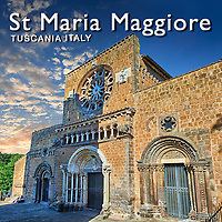 Pictures of Basilica Church Santa Maria Maggiore - Tuscania -