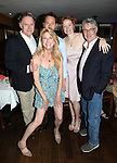 Michael Cullen, Leslie Hendrix, Matthew Humphreys, Gretchen Hall & Michael Rupert.pictured at the Opening Night After Party for '7th Monarch' at Angus McIndoe Restaurant  in New York City on June 24, 2012.