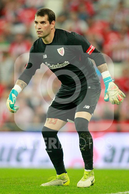 Athletic Club de Bilbao's Iago Herrerin during Europa League Play-off, 2nd leg. August 24,2017. (ALTERPHOTOS/Acero)