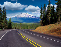 Century Drive and Mount Bachelor. Oregon.