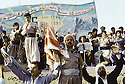 Irak 1991.Spectacle pour le 45 ème anniversaire du PDK.Iraq 1991.Celebration of the 45th anniversary of KDP