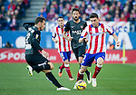 Atletico de Madrid's Uruguayan forward Cebolla Rodriguez during the Spanish league football match Atletico de Madrid vs Levante at the Vicente Calderon stadium in Madrid on Jaunary 3, 2015. Samuel de Roman / Photocall3000.