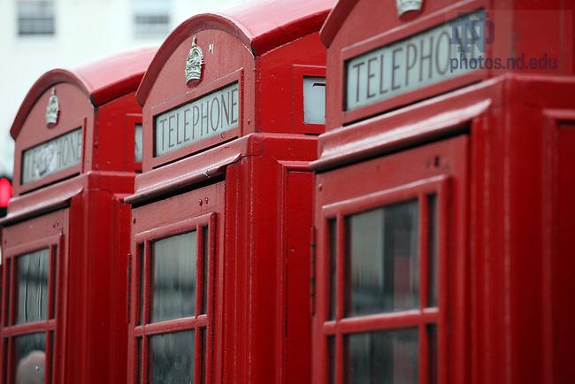 Scenes around London..Photo by Matt Cashore/University of Notre Dame