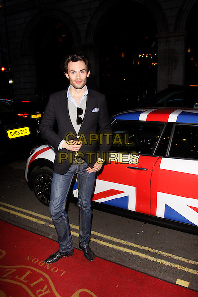 LONDON, ENGLAND - APRIL 28 :  Mark-Francis Vandelli arrives at the Tatler Best of British - party at The Ritz on April 28, 2015 in London, England.<br /> CAP/AH<br /> &copy;Adam Houghton/Capital Pictures