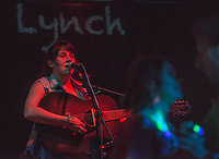"Anna Lynch performs during the release party for Emma Hill's ""Ten Years"" album at Taproot."