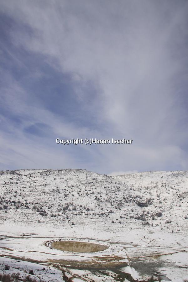 Golan Heights, Mann Pool at Mann valley.