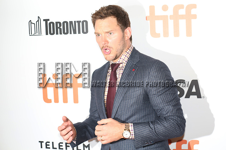 Chris Pratt attends 'The Magnificent Seven' Red Carpet Gala Opening Night of the 2016 Toronto International Film Festival at TIFF Bell Lightbox on September 8, 2016 in Toronto, Canada.