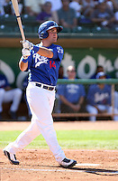 Chris Henderson - 2010 Ogden Raptors - Pioneer League homers against the Missoula Osprey at Lindquist Field, Ogden, UT - 07/25/2010.Photo by:  Bill Mitchell/Four Seam Images..