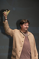 SEptember 3,, 2012 - Montreal (Qc) CANADA -  <br />  Montreal World Film Festival closing ceremonies - - Maciek Adamek awarded silver Zenith for the First fiction film : THE PHOTOGRAPH (ZDJECIE)