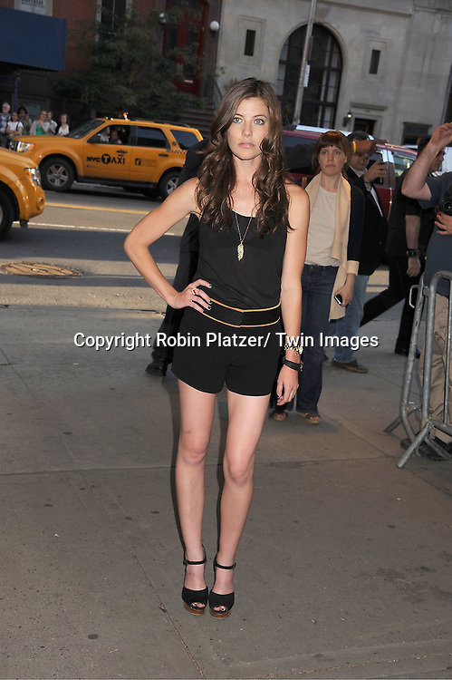 """Devin Kelley arrives for the special New York screening of """"Savages"""" on June 27, 2012 at The SVA Theatre in New York City. .The movie stars John Travolta, Blake Lively, and Taylor Kitsch and is directed by Oliver Stone."""